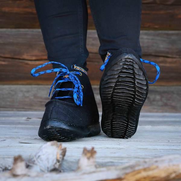 Bilde av Nesnalobben sko original SVART VOKSEN