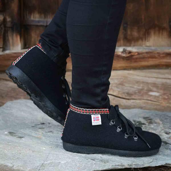 Bilde av Nesnalobben Afterski sko svart