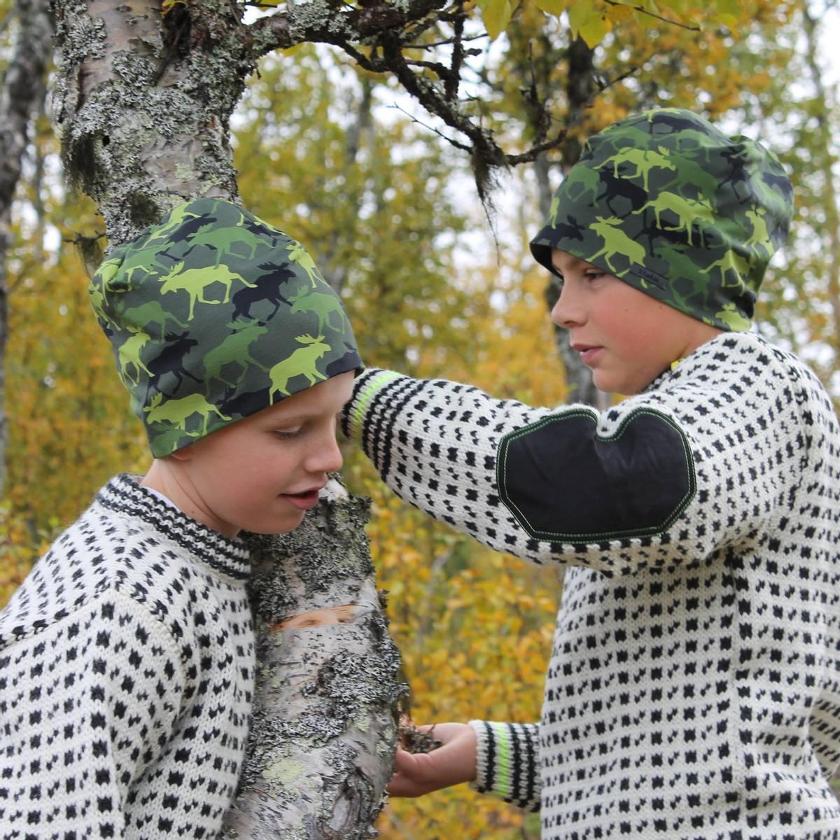 Snorre wool sweater CHILDREN